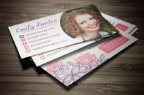 Cultivating Courage Business Card